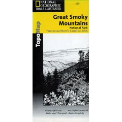 Trails Illustrated Map Great Smoky Mountains